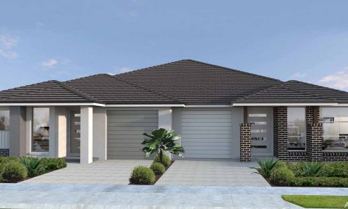 Duplex Single Storey Option 1