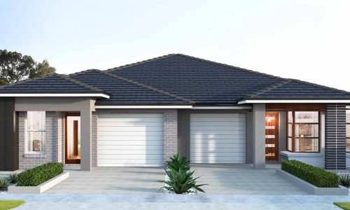 Duplex Single Storey Option 3